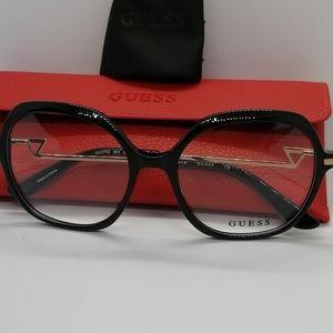 Brand New/Authentic Guess Eyeglass GU2702 Blk/Gold